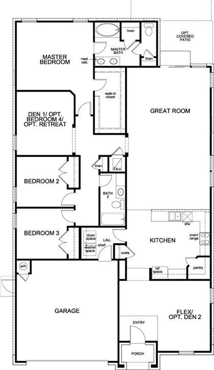 Kbhome houses at vista point sherlock homes austin for Austin home plans