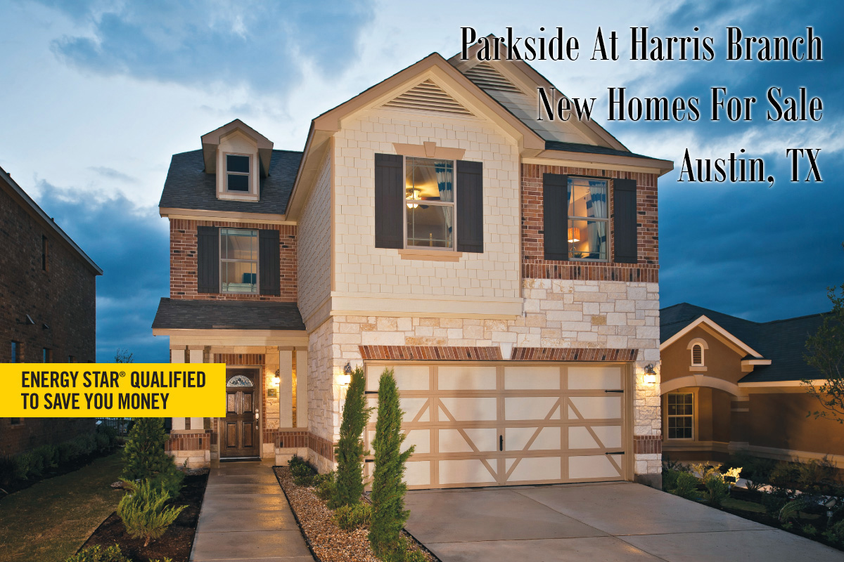 Kbhome houses at parkside harris branch sherlock homes for Modern houses for sale austin