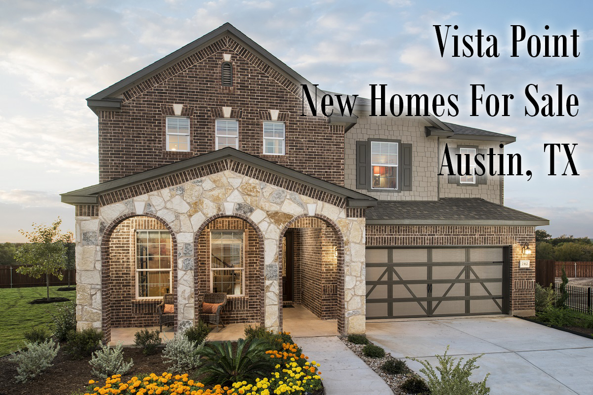 KBHome Houses at Vista Point - Sherlock Homes Austin